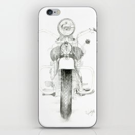 Motorcycle 1 iPhone Skin