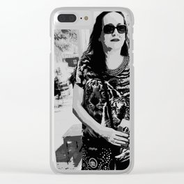 Window Shopping Clear iPhone Case