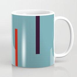 Abstract Classic Stripes Mirian Coffee Mug
