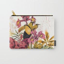 Tropical Garden Tucan Carry-All Pouch