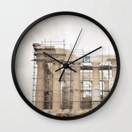 Parthenon: Athens, Greece. Wall Clock