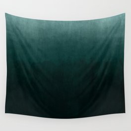 Ombre Emerald Wall Tapestry