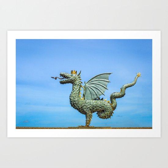 Dragon Zilant Art Print