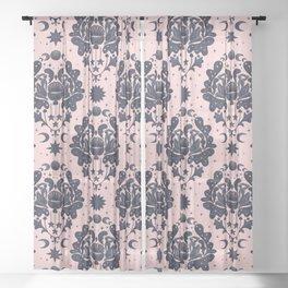 MOON BATH RITUAL Sheer Curtain