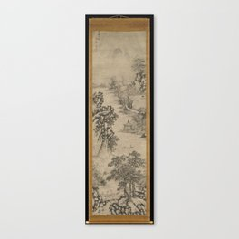 Ming Xie Shichen four times Jiaxing map axis four Landscapes of the Four Seasons ,dated 1560 Canvas Print