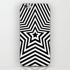 Stars - black & white vers. iPhone & iPod Skin