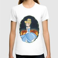 cinderella T-shirts featuring Cinderella by Adele Manuti