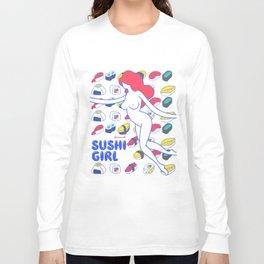 Sushi Girl Long Sleeve T-shirt