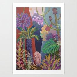 Lost in the Jungle Art Print