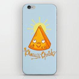 In Cheese We Trust iPhone Skin