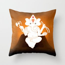Ganesh Throw Pillow
