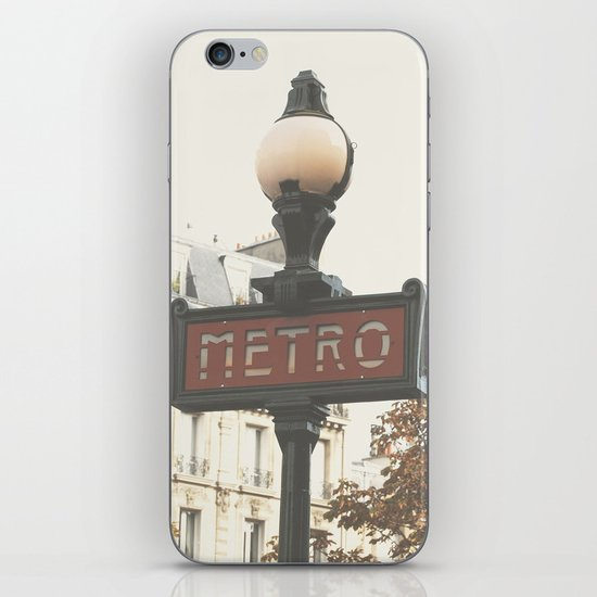 Metro iPhone & iPod Skin