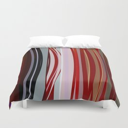 Abstract Composition 651 Duvet Cover