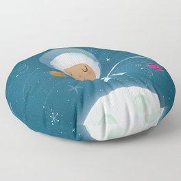 Little Astronaut Floor Pillow