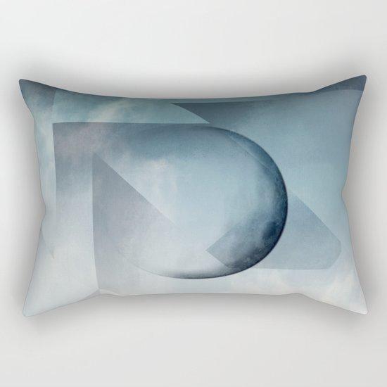 Jagged Peaks Rectangular Pillow