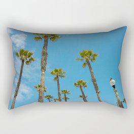 Palms and Sun Rectangular Pillow
