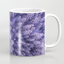 PURPLE - FORREST - TOP - VIEW - PHOTOGRAPHY - NATURE Coffee Mug