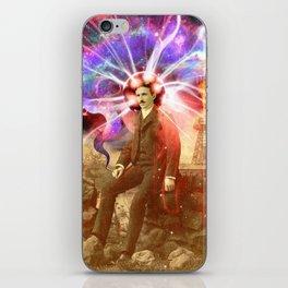Electric Scientist iPhone Skin