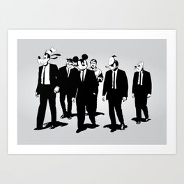 Walt's Protection Crew Art Print