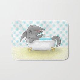 Shark bath Bath Mat