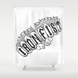 Iron Fist Shower Curtain