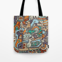 Punky Redux Tote Bag