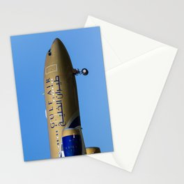 Gulf air Airbus A330 Stationery Cards