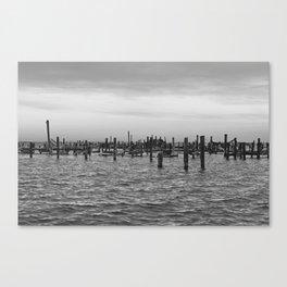 Piers Canvas Print