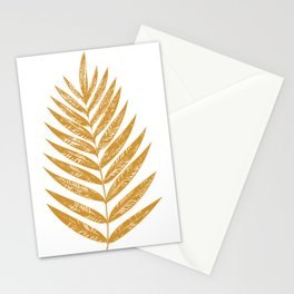Golden Fern Stationery Cards