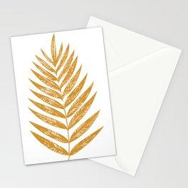 Golden Fern Stationery Cards