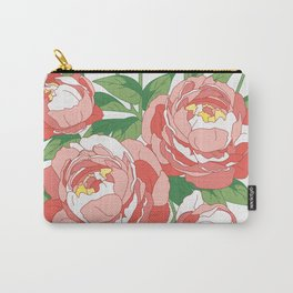 Bouquet of peonies Carry-All Pouch