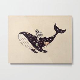 Stellar Ride Metal Print