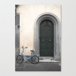 bicycles of Tuscany2 Canvas Print