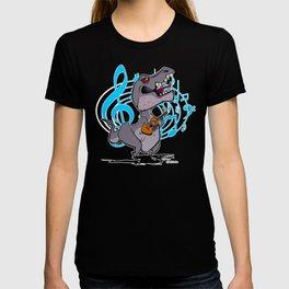 T-Rex on the Ukulele T-shirt