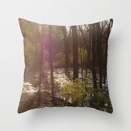 Nosferatu Forest Throw Pillow