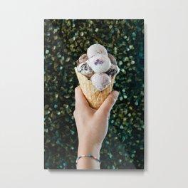 Ice Cream Love Metal Print