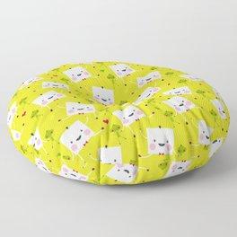 I love Veggies Floor Pillow
