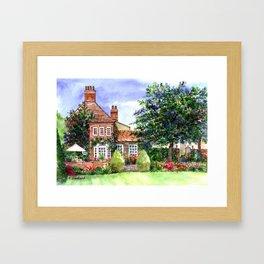 The Manor House Framed Art Print