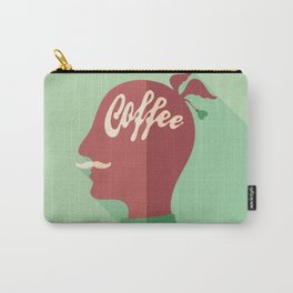Coffee Head Carry-All Pouch