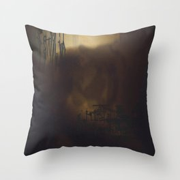 Glow 1 Throw Pillow