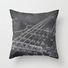 Stratocaster Throw Pillow