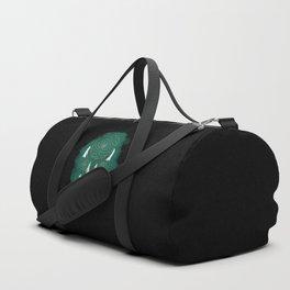 Classic Dreamcatcher: Green background Duffle Bag