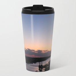 Waterway Sunset #2 Travel Mug