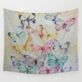 Butterflies II Wall Tapestry