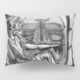 Awfully Big Adventure Pillow Sham