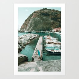 Sant'Angelo view Art Print