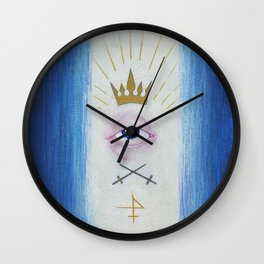 Illuminati : Gaze of Protection Wall Clock
