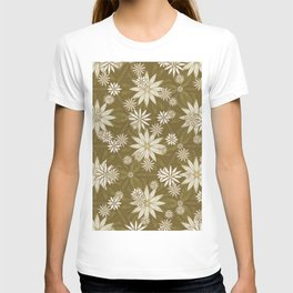 Vintage White Flowers T-shirt