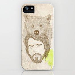 mr.bear-d iPhone Case