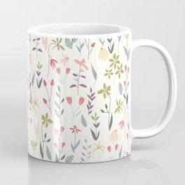Wildflowers in the Air Sage Coffee Mug